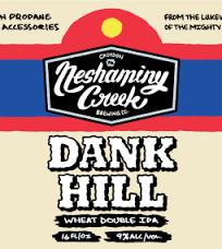Neshaminy Creek Dank Hill beer Label Full Size