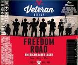 Veteran Freedom Road Amber Lager Beer