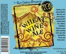 Fort Collins Wheat Wine beer Label Full Size