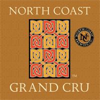North Coast Grand Cru beer Label Full Size