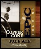 Epic Copper Cone beer