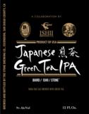 Stone Japanese Green Tea IPA beer