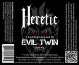 Heretic Evil Twin beer