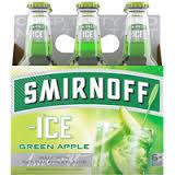 Smirnoff Ice Green Apple beer