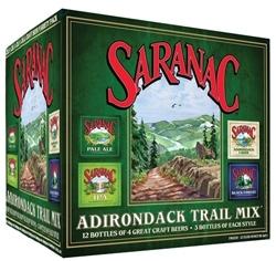 Saranac Adirondack Trail Mix beer Label Full Size