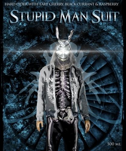 B. Nektar Stupid Man Suit beer Label Full Size