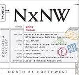 North by Northwest Riesling wine