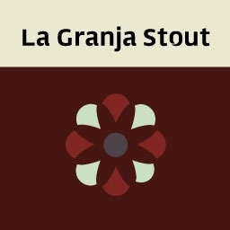 Norrebro La Granja Stout beer Label Full Size