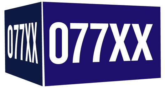 Carton 077XX beer Label Full Size