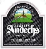 Andescher Dunkel Weisse beer