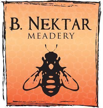 B. Nektar Orange Blossom Mead beer Label Full Size