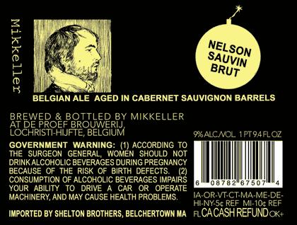 Mikkeller Nelson Sauvin Brut Beer