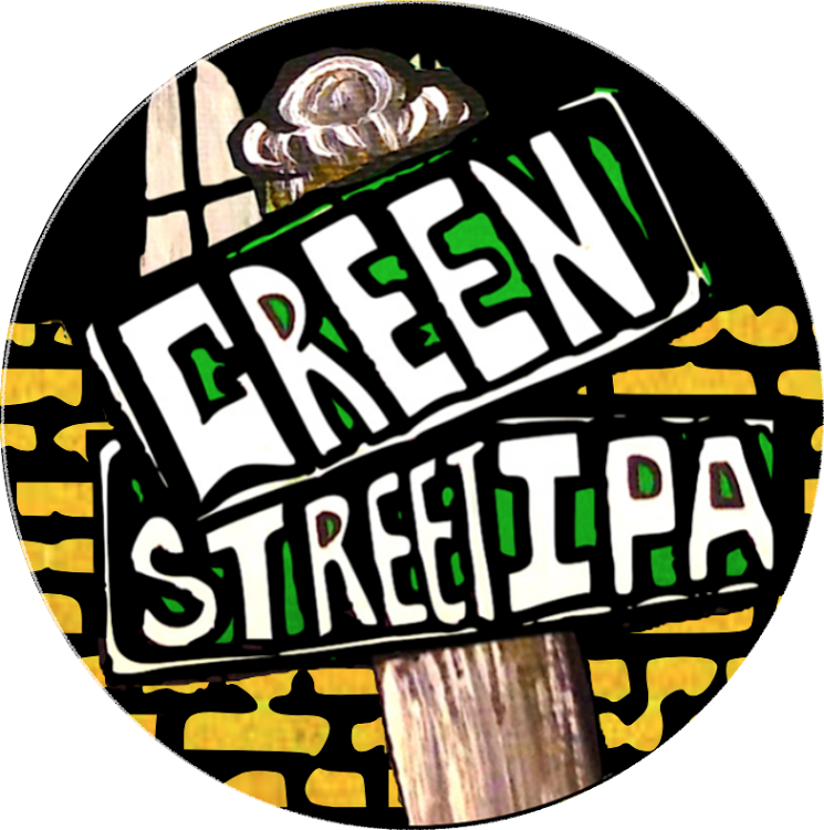 Four Mile Green Street IPA beer Label Full Size
