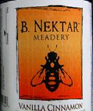 B. Nektar Vanilla Cinnamon Mead beer