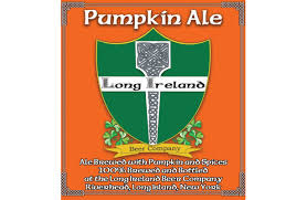 Long Ireland Pumpkin beer Label Full Size