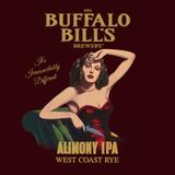Buffalo Bill's Alimony IPA West Coast Rye beer
