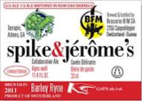 Terrapin BFM Spike and Jerome's Barley Ryne Beer