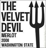 The Velvet Devil Merlot wine