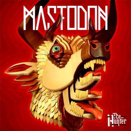 Defiant Mastodon The Hunter beer Label Full Size