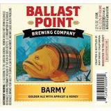 Ballast Point Barmy Apricot Ale beer