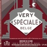 De la Senne Allagash Very Special Belge beer