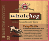 Stevens Point Whole Hog Pumpkin Ale beer