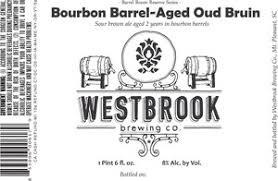 Westbrook Bourbon Barrel-Aged Oud Bruin beer Label Full Size