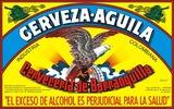 Cerveza Aguila Beer