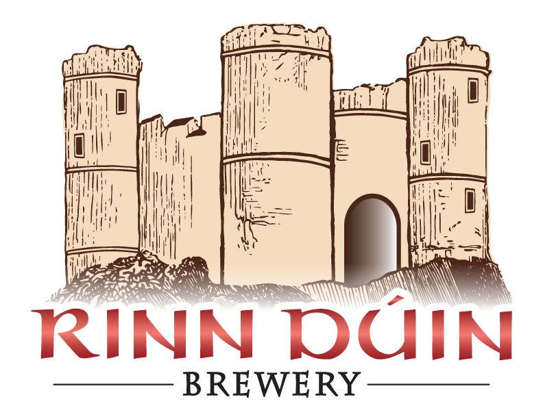 Rinn Duin Snow Blower beer Label Full Size