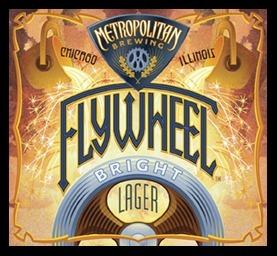 Metropolitan Zwickel Flywheel beer Label Full Size