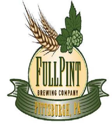 Full Pint Coffee Stout beer Label Full Size