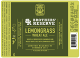 Widmer Brothers Reserve Lemongrass Wheat Ale Beer