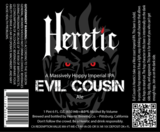 Heretic Evil Cousin beer