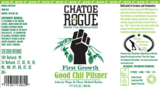 Rogue Good Chit Pilsner Beer