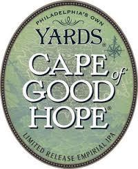 Yards Cape of Good Hope Double IPA beer Label Full Size