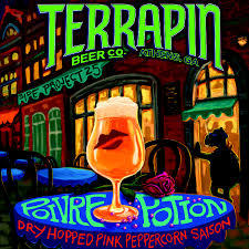 Terrapin Poivre Potion Saison beer Label Full Size