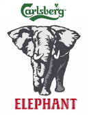 Carlsberg Elephant beer Label Full Size
