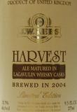 JW Lees Harvest Ale 2003 Lagavulin Cask beer