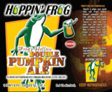 Hoppin' Frog Frog's Hollow Double Pumpkin Ale beer