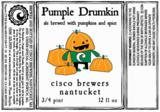 Cisco Pumple Drumkin Beer