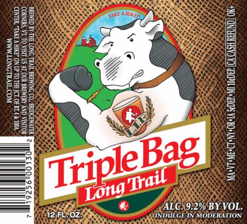 Long Trail Triple Bag Beer