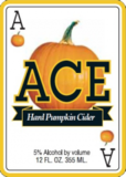 Ace Pumpkin Cider Beer