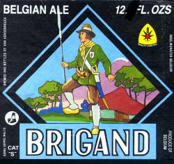 Brigand beer Label Full Size