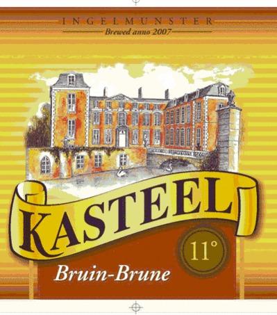 Kasteel Brune beer Label Full Size