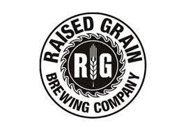 Raised Grain Black Walnut beer Label Full Size