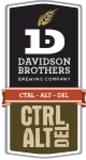 Davidson Brothers Ctrl+Alt+Del Beer