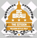 DC Brau The Citizen beer