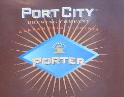 Port City Porter beer Label Full Size