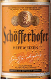 Schofferhofer Hefeweizen beer