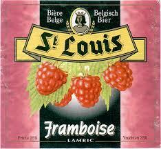 Van Honsebrouck St. Louis Framboise beer Label Full Size